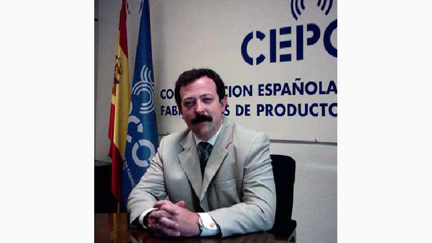 <p>Luis Rodulfo, director general de Cepco.</p>
